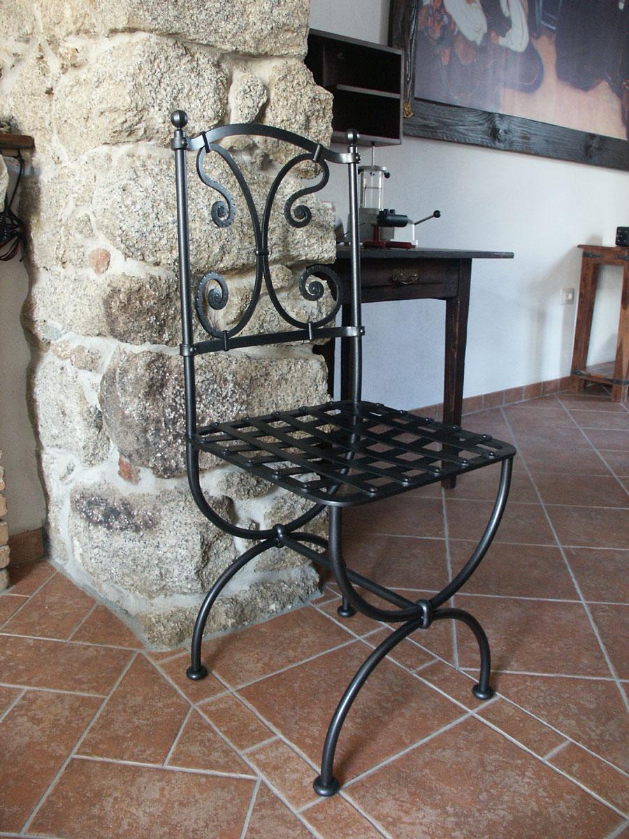 Arredamenti in ferro battuto emanuel ziranu sculture for Arredamenti opera